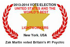 Zak Martin voted Britain's top psychic
