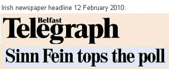 Sinn Fein Prediction