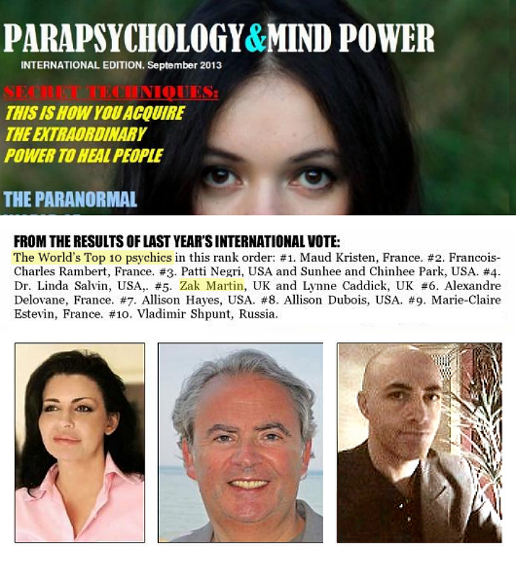 World's Top Ten Psychics
